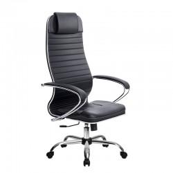 Кресло SU-1-BK Комплект 6, кожа, хром